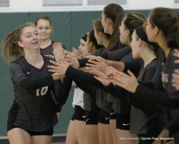 CIAC Girls Volleyball; #4 Guilford 3 vs #5 Farmington 0, Photo 239