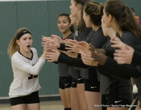 CIAC Girls Volleyball; #4 Guilford 3 vs #5 Farmington 0, Photo 248