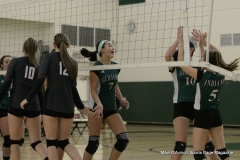 CIAC Girls Volleyball; #4 Guilford 3 vs #5 Farmington 0, Photo 307
