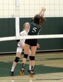 CIAC Girls Volleyball; #4 Guilford 3 vs #5 Farmington 0, Photo 339