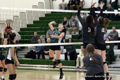 CIAC Girls Volleyball; #4 Guilford 3 vs #5 Farmington 0, Photo 341