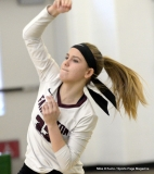 CIAC Girls Volleyball; #4 Guilford 3 vs #5 Farmington 0, Photo 389