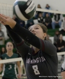 CIAC Girls Volleyball; #4 Guilford 3 vs #5 Farmington 0, Photo 396