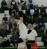 CIAC Girls Volleyball; #4 Guilford 3 vs #5 Farmington 0, Photo 441