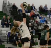 CIAC Girls Volleyball; #4 Guilford 3 vs #5 Farmington 0, Photo 453