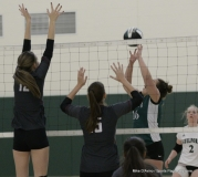 CIAC Girls Volleyball; #4 Guilford 3 vs #5 Farmington 0, Photo 520