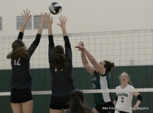 CIAC Girls Volleyball; #4 Guilford 3 vs #5 Farmington 0, Photo 521
