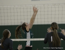 CIAC Girls Volleyball; #4 Guilford 3 vs #5 Farmington 0, Photo 528
