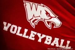 CIAC Girls Volleyball; Wolcott 0 vs. Woodland 3 - Photo # (00)