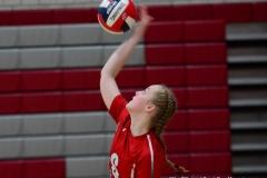 CIAC Girls Volleyball; Wolcott 0 vs. Woodland 3 - Photo # (121)