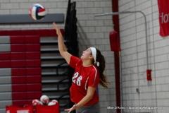 CIAC Girls Volleyball; Wolcott 0 vs. Woodland 3 - Photo # (131)