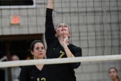 CIAC Girls Volleyball; Wolcott 0 vs. Woodland 3 - Photo # (138)