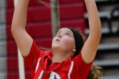 CIAC Girls Volleyball; Wolcott 0 vs. Woodland 3 - Photo # (141)