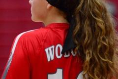 CIAC Girls Volleyball; Wolcott 0 vs. Woodland 3 - Photo # (146)