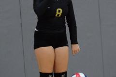 CIAC Girls Volleyball; Wolcott 0 vs. Woodland 3 - Photo # (147)