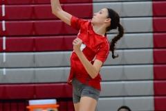 CIAC Girls Volleyball; Wolcott 0 vs. Woodland 3 - Photo # (153)