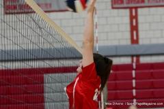CIAC Girls Volleyball; Wolcott 0 vs. Woodland 3 - Photo # (164)