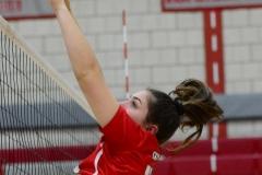 CIAC Girls Volleyball; Wolcott 0 vs. Woodland 3 - Photo # (165)
