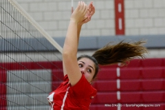 CIAC Girls Volleyball; Wolcott 0 vs. Woodland 3 - Photo # (166)