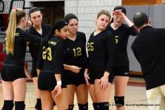 CIAC Girls Volleyball; Wolcott 0 vs. Woodland 3 - Photo # (17)