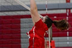 CIAC Girls Volleyball; Wolcott 0 vs. Woodland 3 - Photo # (180)