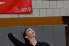 CIAC Girls Volleyball; Wolcott 0 vs. Woodland 3 - Photo # (184)
