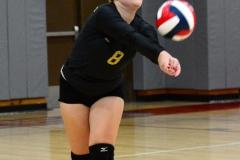 CIAC Girls Volleyball; Wolcott 0 vs. Woodland 3 - Photo # (197)