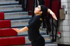 CIAC Girls Volleyball; Wolcott 0 vs. Woodland 3 - Photo # (20)