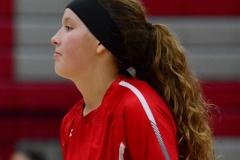 CIAC Girls Volleyball; Wolcott 0 vs. Woodland 3 - Photo # (205)