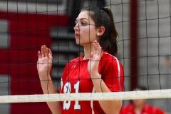 CIAC Girls Volleyball; Wolcott 0 vs. Woodland 3 - Photo # (219)