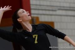 CIAC Girls Volleyball; Wolcott 0 vs. Woodland 3 - Photo # (220)