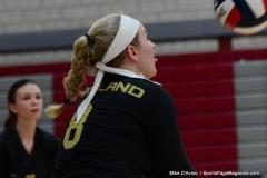 CIAC Girls Volleyball; Wolcott 0 vs. Woodland 3 - Photo # (223)