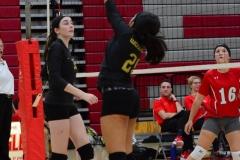 CIAC Girls Volleyball; Wolcott 0 vs. Woodland 3 - Photo # (228)