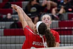 CIAC Girls Volleyball; Wolcott 0 vs. Woodland 3 - Photo # (24)