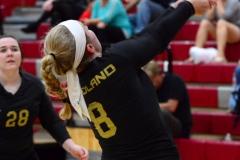 CIAC Girls Volleyball; Wolcott 0 vs. Woodland 3 - Photo # (253)