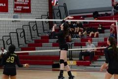 CIAC Girls Volleyball; Wolcott 0 vs. Woodland 3 - Photo # (272)