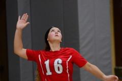 CIAC Girls Volleyball; Wolcott 0 vs. Woodland 3 - Photo # (28)
