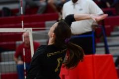 CIAC Girls Volleyball; Wolcott 0 vs. Woodland 3 - Photo # (286)