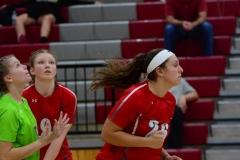 CIAC Girls Volleyball; Wolcott 0 vs. Woodland 3 - Photo # (292)