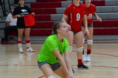 CIAC Girls Volleyball; Wolcott 0 vs. Woodland 3 - Photo # (296)