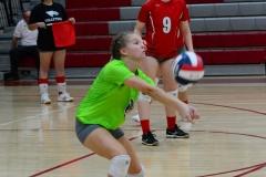 CIAC Girls Volleyball; Wolcott 0 vs. Woodland 3 - Photo # (297)