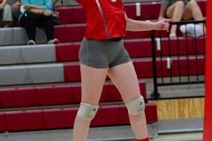 CIAC Girls Volleyball; Wolcott 0 vs. Woodland 3 - Photo # (308)