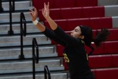 CIAC Girls Volleyball; Wolcott 0 vs. Woodland 3 - Photo # (318)