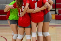 CIAC Girls Volleyball; Wolcott 0 vs. Woodland 3 - Photo # (32)