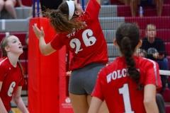 CIAC Girls Volleyball; Wolcott 0 vs. Woodland 3 - Photo # (334)