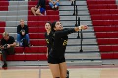 CIAC Girls Volleyball; Wolcott 0 vs. Woodland 3 - Photo # (36)