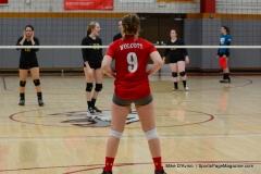 CIAC Girls Volleyball; Wolcott 0 vs. Woodland 3 - Photo # (363)