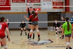 CIAC Girls Volleyball; Wolcott 0 vs. Woodland 3 - Photo # (368)