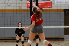 CIAC Girls Volleyball; Wolcott 0 vs. Woodland 3 - Photo # (369)