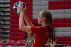 CIAC Girls Volleyball; Wolcott 0 vs. Woodland 3 - Photo # (371)